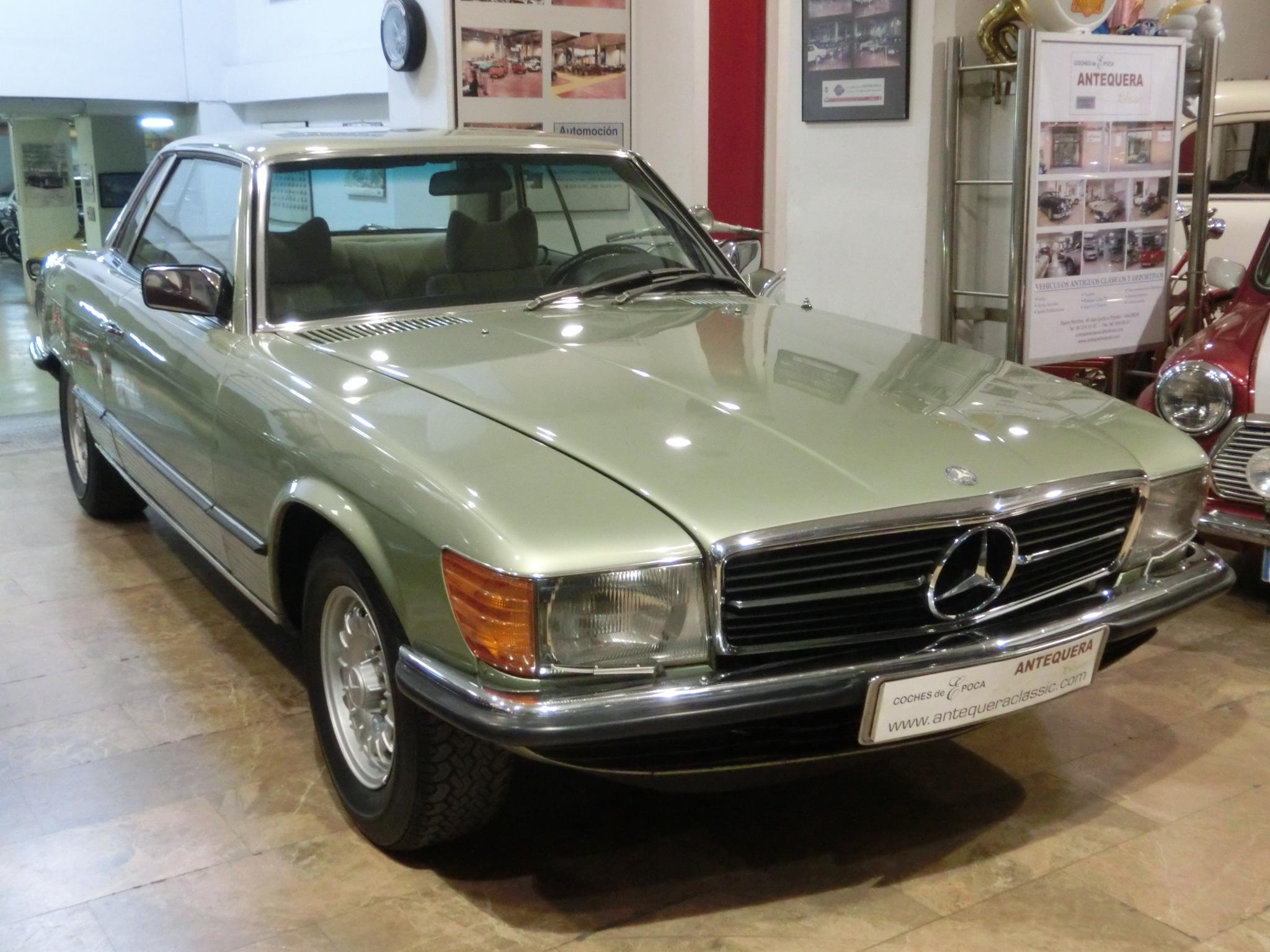 Antequera classic mercedes benz 450 slc c107 a o 1976 for Mercedes benz com mx mexico